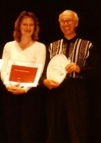 remise des prix Congrès AFAP avec sa fille LAURENCE    DUNKERQUE 1998