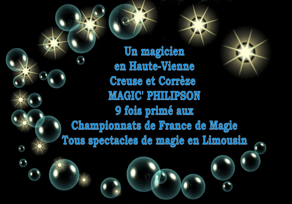 MAGIE ENFANTS - MAGIC' PHILIPSON